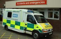 これと同じ救急車が来た